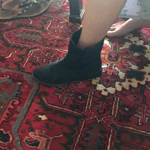 Zigi Girl Navy Suede Boots
